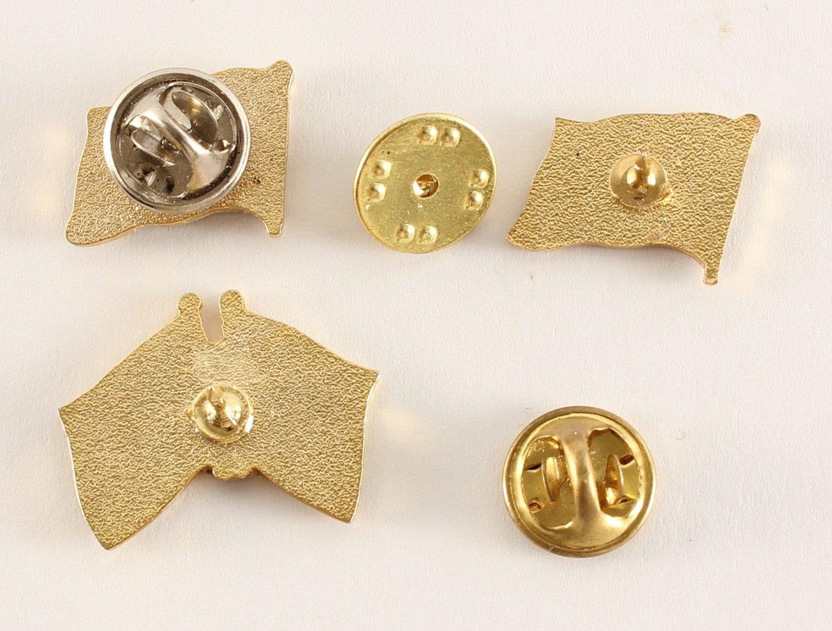 Wismar Pin Anstecker Flagge Flaggenpin Fahne Fahnenpin Button Clip