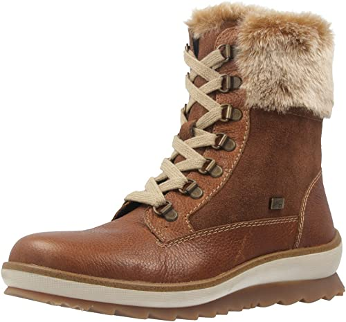 Remonte Womens Pure Brown Combi D-Ring