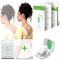 UPRIGHT GO 2 Bundle Lighter, Smaller Posture Corrector   Strapless, Discrete, Easy to Use Trainer with 30 Hours Battery…