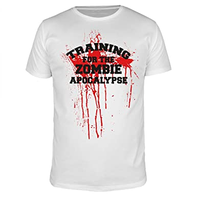 FABTEE Training for The Zombie Apocalypse - Walking Dead - Herren ...