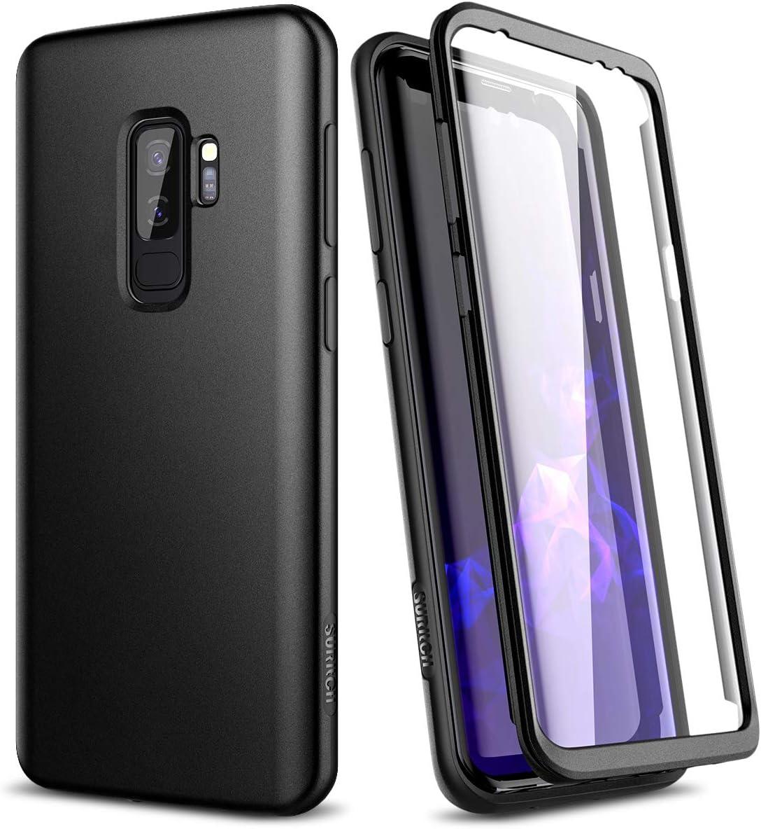 SURITCH Funda para Samsung Galaxy S9 Plus Silicona 360 Grados Bumper Flexible TPU Delantera y Trasera Irrompible Caso Carcasa Samsung Galaxy S9 Plus: Amazon.es: Electrónica