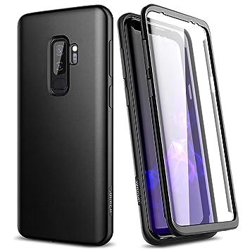 SURITCH Funda para Samsung Galaxy S9 Plus Silicona 360 Grados Bumper Flexible TPU Delantera y Trasera Irrompible Caso Carcasa Samsung Galaxy S9 Plus - ...