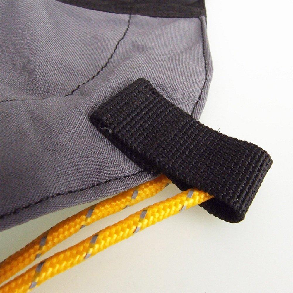 UHNT Outdoor Waterproof Essential Ankle Walking Gaiters (1 Pair) -Black by UHNT (Image #6)