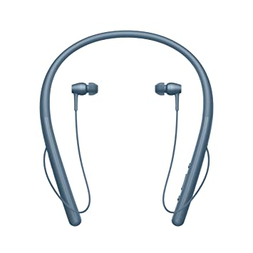 Sony WIH700 - Auriculares Neckband inalámbricos (Hi-Res Audio, H.Ear, diseño Ligero, Bluetooth, Compatible con aplicación Headphones Connect) Azul: Sony: ...