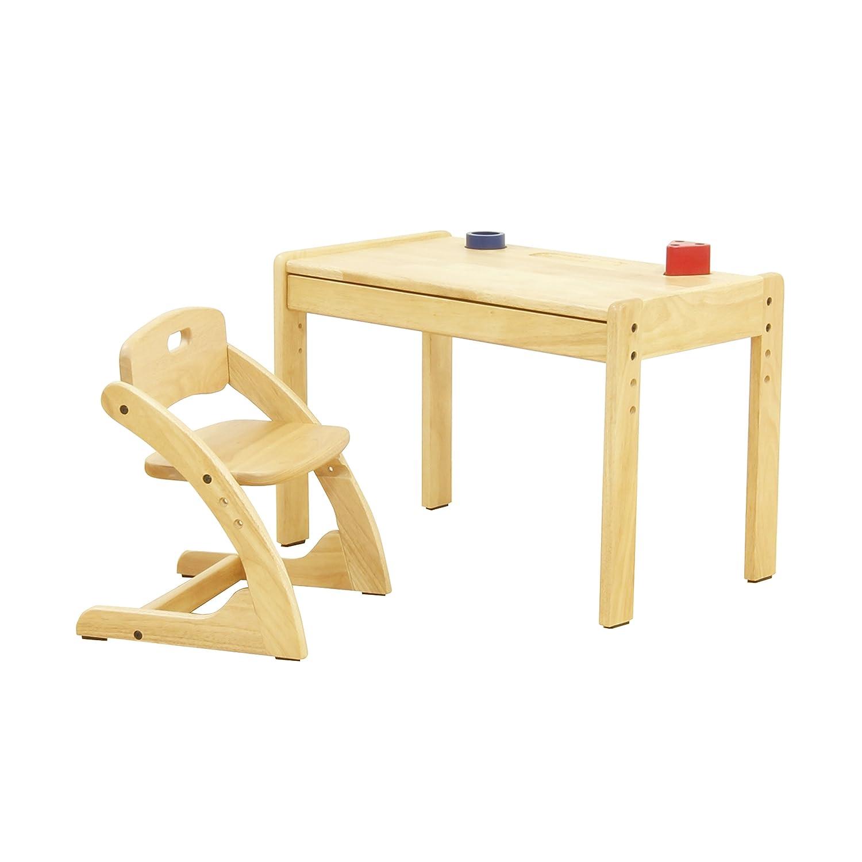 大和屋 ブォーノ アミーチェ デスク&チェア 机に向かって座る習慣を養います  ブラウン B00L7EUATE