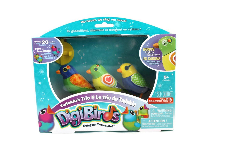 Digi Birds Twinkle's Trio- Set of 3 Digibirds by Digi Birds [並行輸入品] B00OCIM0OA
