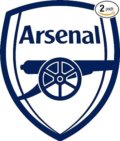 ARSENAL FC LOGO CAR WINDOW BUMPER LAPTOP ORACAL VINYL DECAL STICKER