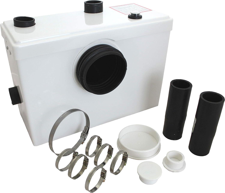 Tuecompra S.L. Triturador Sanitario WC 600 W - Bomba trituradora para Lavabo, baño o Cocina: Amazon.es: Bricolaje y herramientas