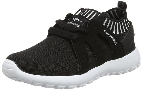 KangaROOS K-Sock, Zapatillas Unisex niños, Negro (Jet Black/Vapor Grey 5007), 36 EU: Amazon.es: Zapatos y complementos
