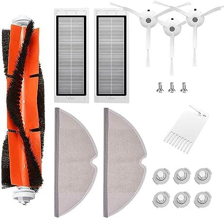Kit de Accesorios para Xiaomi Aspirador Roborock S50 S51 S55 S5 S6 Roborock 2 Xiaomi MI Robot, 18pcs: Amazon.es: Hogar