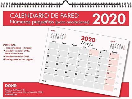 Dohe 11640 - Calendario: Amazon.es: Oficina y papelería