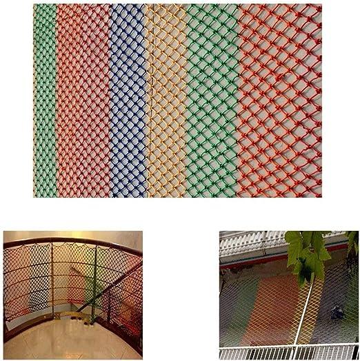 Red de protección Escalera Red de Seguridad Gimnasio Red Colgante Parrot Gateando Color de la Pared Red Decorativa Balcón Red Protectora Niños Barandilla Red de Interior para Gatos Multicolo: Amazon.es: Hogar