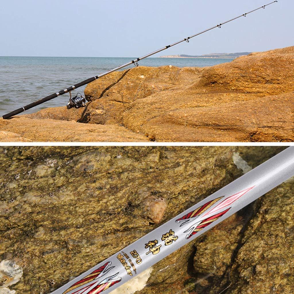 ZFF Girar Combo Carrete Spinning Rod Gigante Ancla Traje Pez Ancla Pescado Pez Colgante Dedicado 1.8 M, 2.1 M, 2.4 M: Amazon.es: Deportes y aire libre