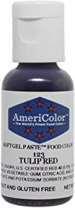 Americolor Soft Gel Paste Food Color.75-Ounce, Tulip Red