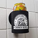 Shower Beer Holder Sticks to Glass Multiple Colours Tiles /& More Mirror