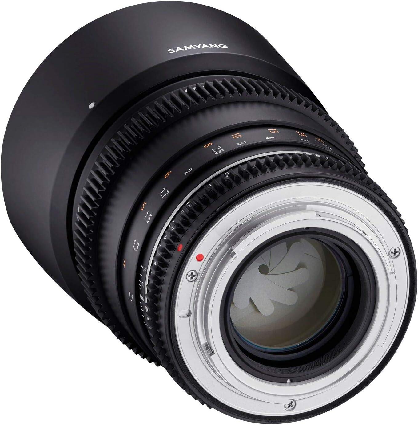 Samyang Mf 85mm T1 5 Vdslr Mk2 Canon Ef Lichtstarkes Kamera