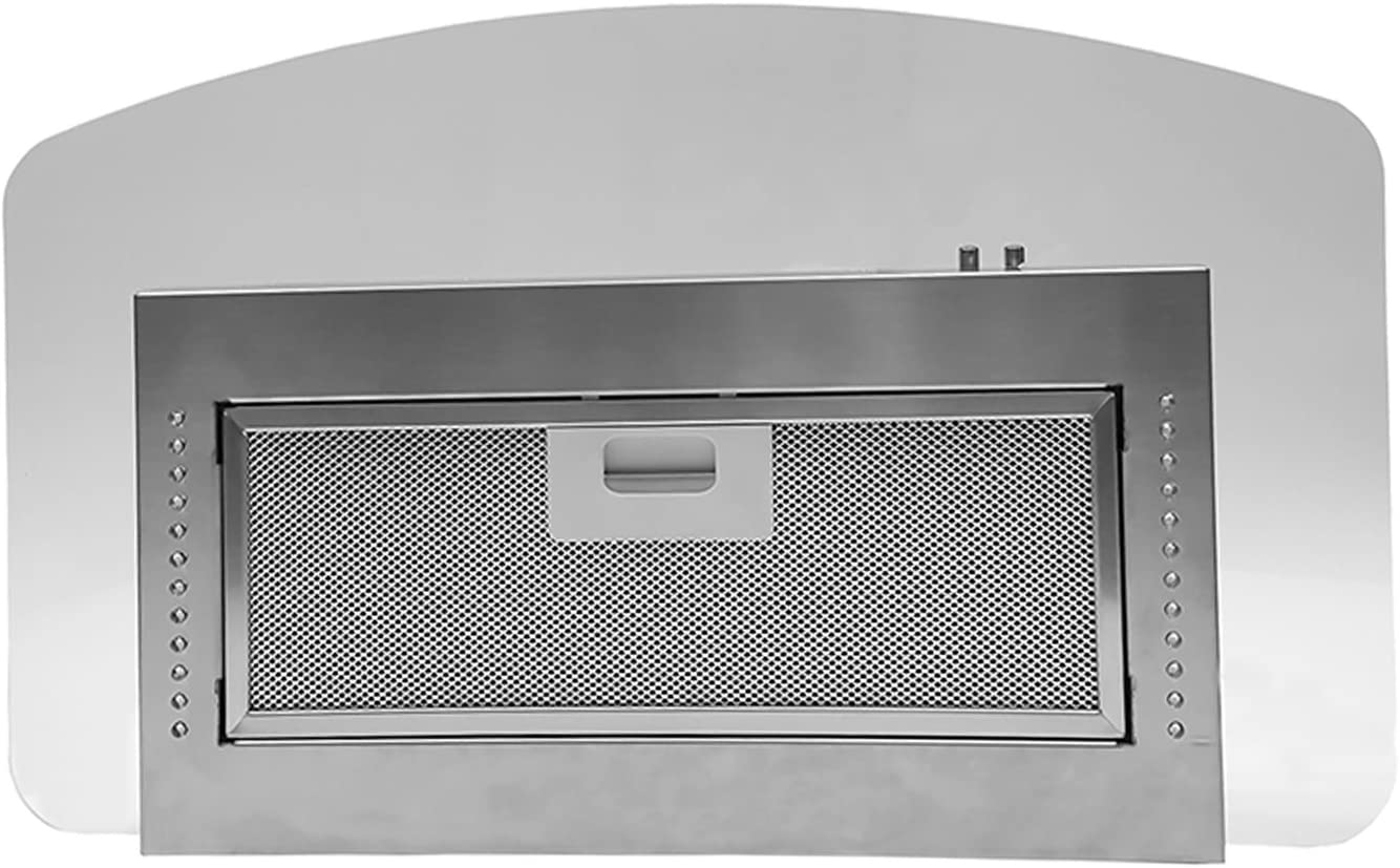 Baraldi Vanta extractor de campana de acero inoxidable LED 12 V Caravana/ Autocaravana/barco: Amazon.es: Coche y moto