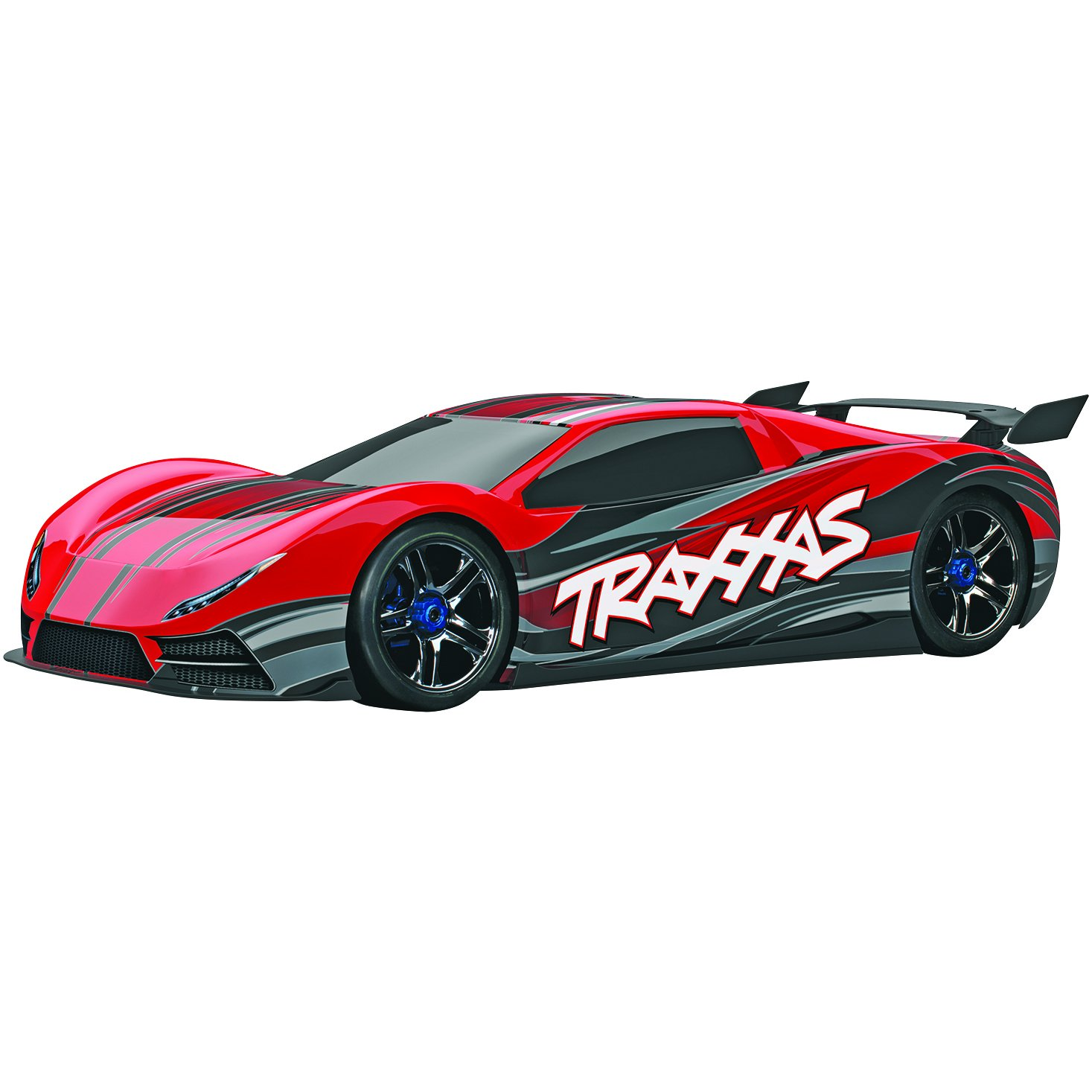 Amazon Traxxas XO 1 AWD Supercar Ready To Race Trucks 1 7 Scale Colors May Vary Discontinued by manufacturer Toys & Games