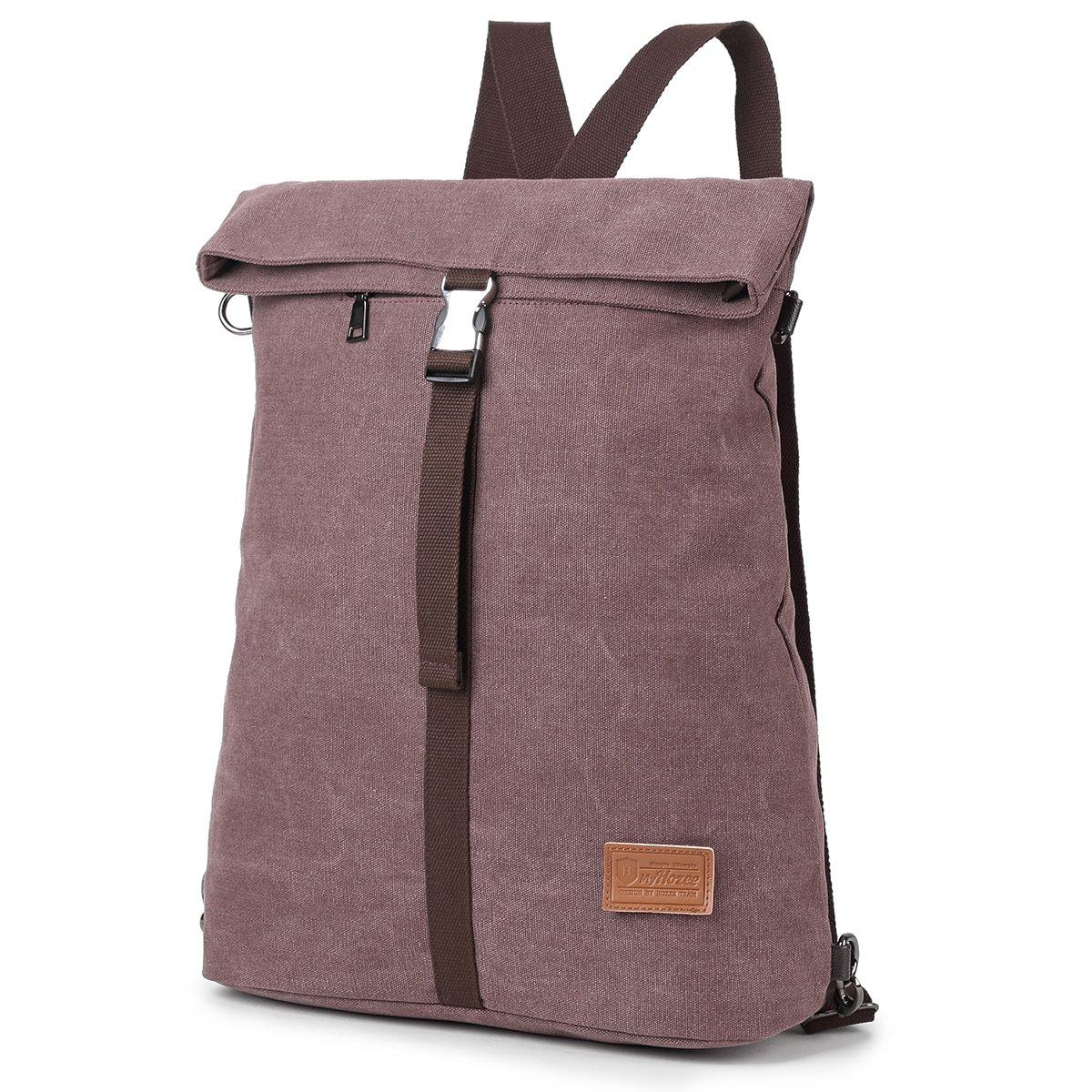 Travistar Women Canvas Rucksack Anti Theft Backpack Purse for School/Travel Multipurpose Daypack