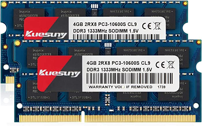 Top 10 Ddr3 At 1333Mhz Laptop Memory