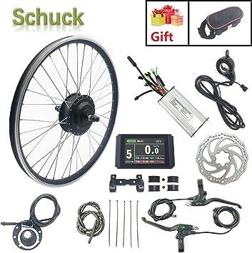 Schuck Kit de conversión de Motor de Bicicleta eléctrica de Rueda ...