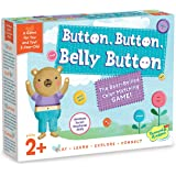 Peaceable Kingdom Button, Button, Belly Button Coloring Matching Game for You and Your 2-Year-Old