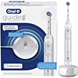 Oral-B Guide, Alexa Built-In, Amazon Dash Replenishment Enabled, Electric Toothbrush, White, Smart Brushing System