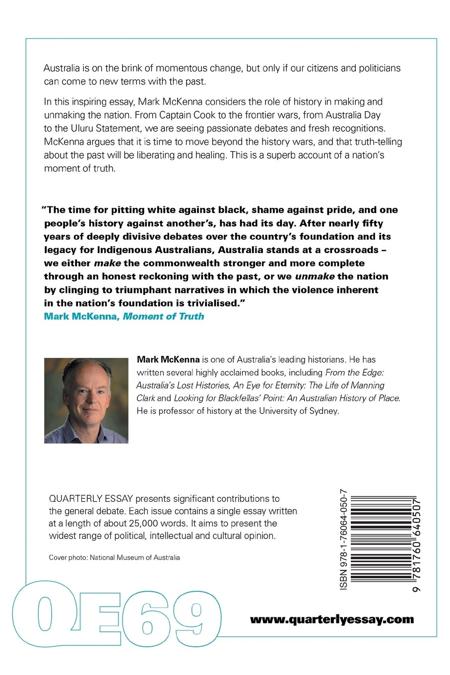 Proposal Essays Mark Mckenna On The Use And Abuse Of Australian History Quarterly Essay   Mark Mckenna  Amazoncom Books Argument Essay Thesis also General Paper Essay Mark Mckenna On The Use And Abuse Of Australian History Quarterly  English Essays Examples