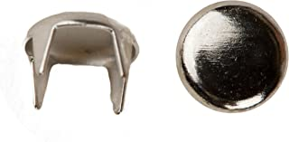 product image for 1001 Spot Nailhead, Size 20, Solid Brass, Nickel Finish, 500 Pieces per Pack