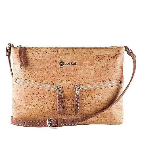 e39276ad19254 Corkor Cork Purse Crossbody Women Handbag from Portugal | Vegan Leather