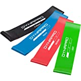 DYNAPRO Resistance Bands- Mini Precision Loop Exercise Bands with E-Quickstart Workout Guide Perfect for Any Home Fitness Training Program