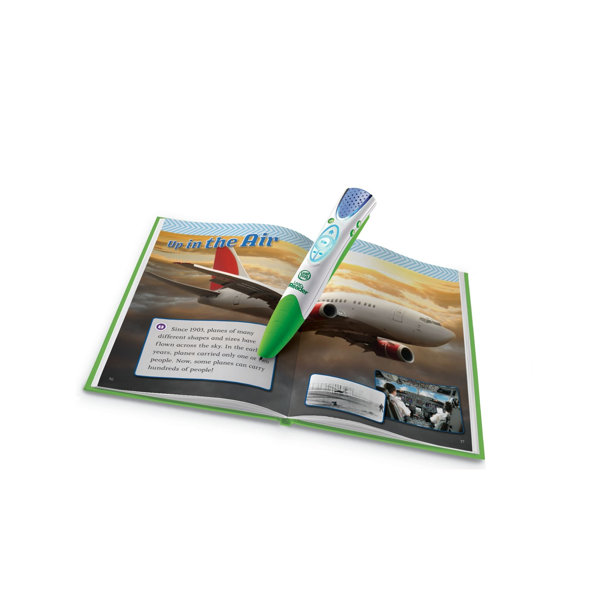 LeapFrog LeapReader Book: Let's Explore Things That Go! (works with Tag) by LeapFrog (Image #2)