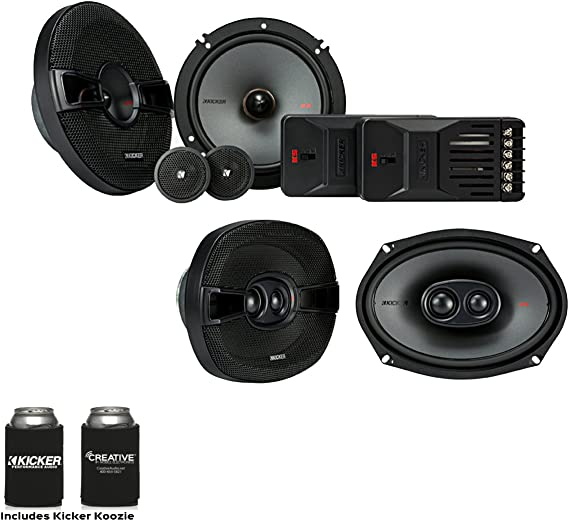 Kicker Speaker Bundle - A Pair of Kicker KS 6.5
