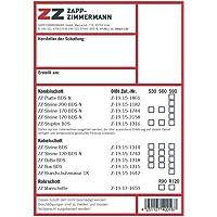 Zapp-Zimmermann Kennzeichnungsschild AbZ (DIBt) Systeme
