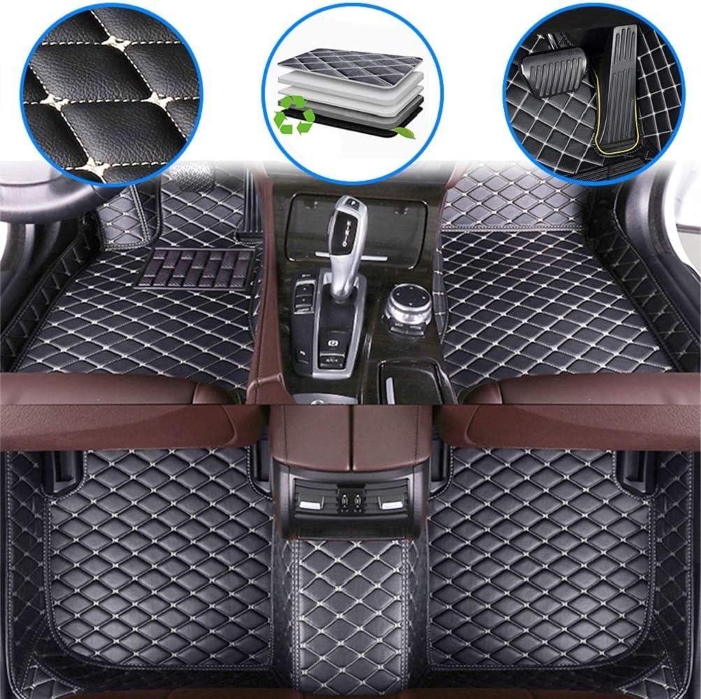 Fußmatten Für C Hevy Camaro 2000 2009 2010 2015 2016 2019 Rutschfeste Abnutzung Bodenmatten Leder Material Automatten Teppiche Schwarz Beige Auto