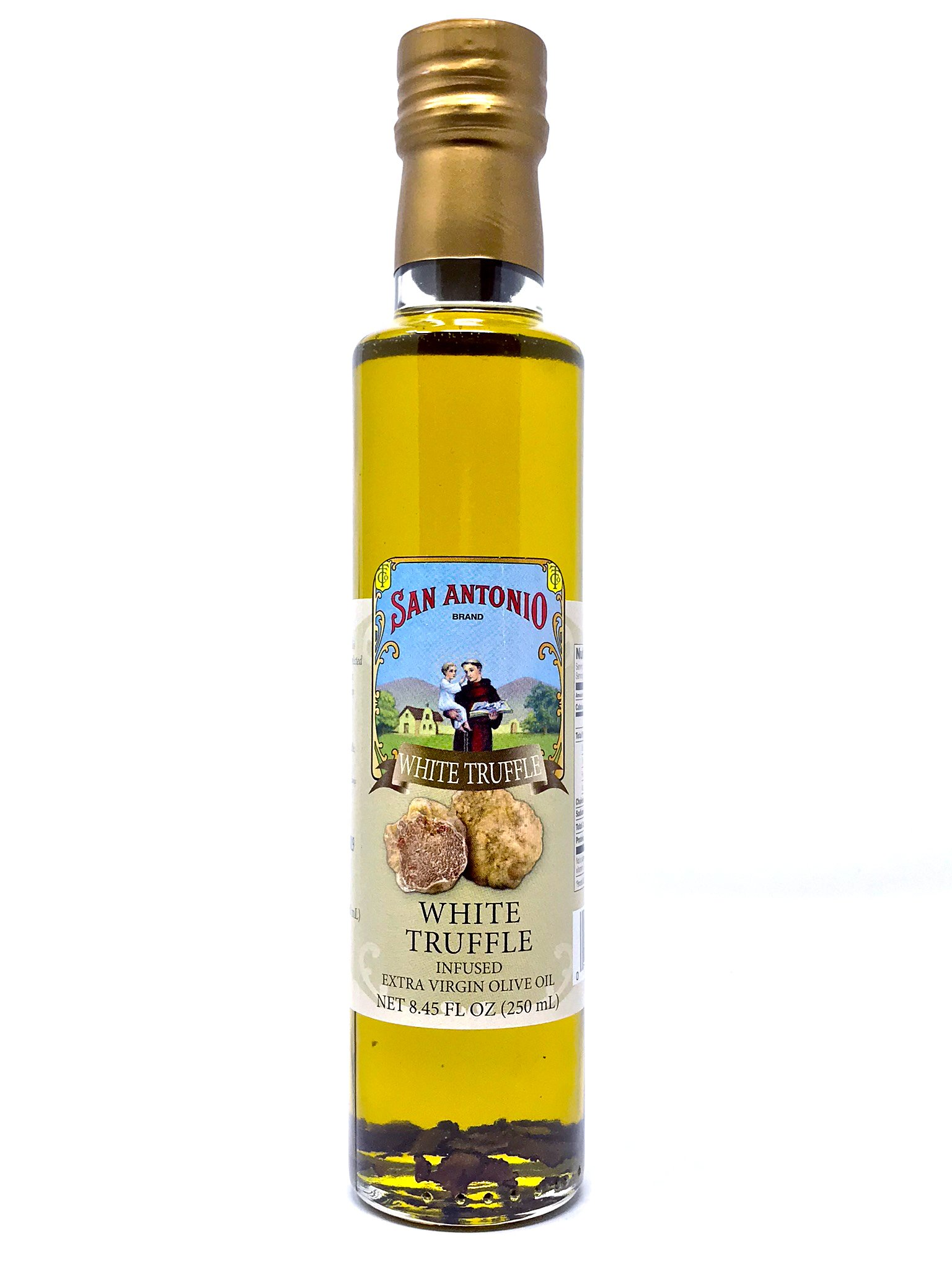 Italian White Truffle Extra Virgin Olive Oil, 8.45 Ounce, (250ml), From Italy
