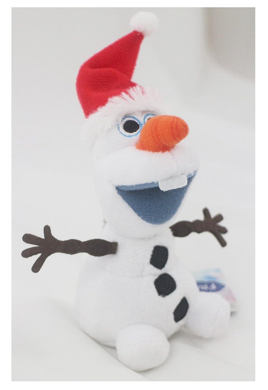 Amazon.com: Disney 's Frozen Olaf Llavero de peluche ...