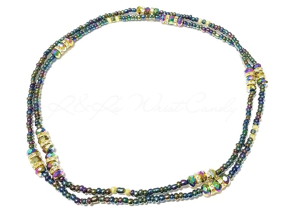 32 and 33 Inches Bronze  Waist Beads Id\u1eb9 With Clasps Waist Beads Belly Chain Waist Chain African Waist Beads