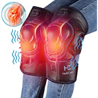 HailiCare Knee Massager Heated and Vibration Therapy With Rechargable 7.4V Lipo Battery
