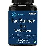 Clearcut Fat Burner, KETO Weight loss, Garcinia Combogia + Apple cidar vinegar + Green coffee + Green tea + L-carnitine + Guggule