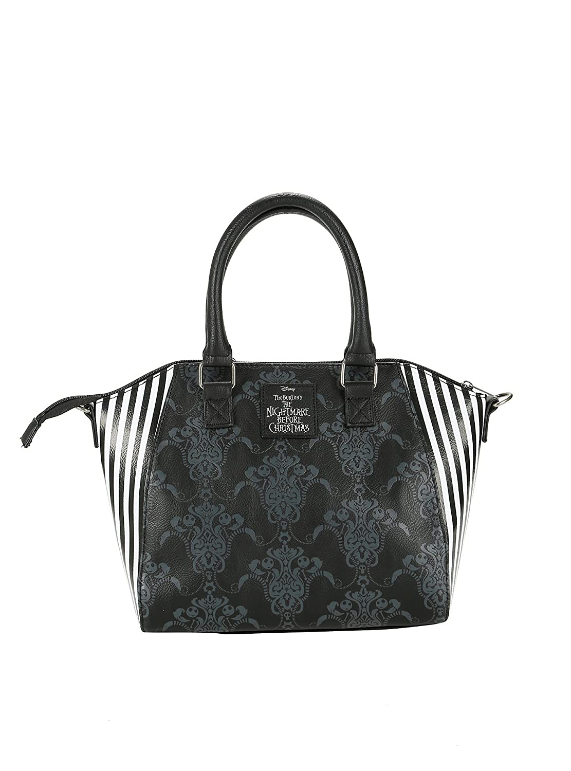 The Nightmare Before Christmas Jack Pinstripe Satchel: Handbags ...
