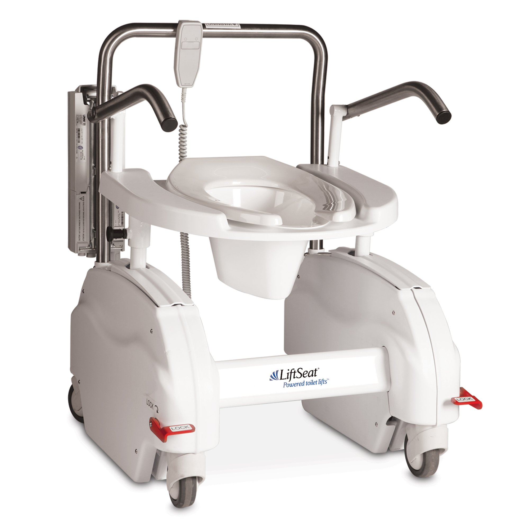 LiftSeat 450 Commode and Toilet Lift - DC Powered