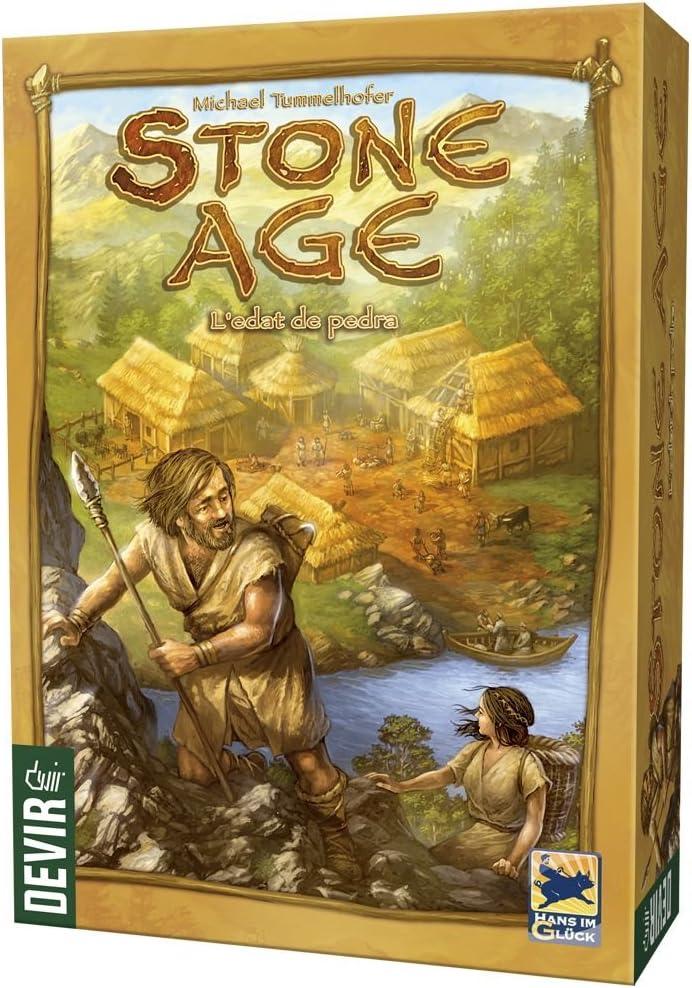 Devir Stone Age, L´edat de Pedra, edición en catalán (BGSTONECAT ...