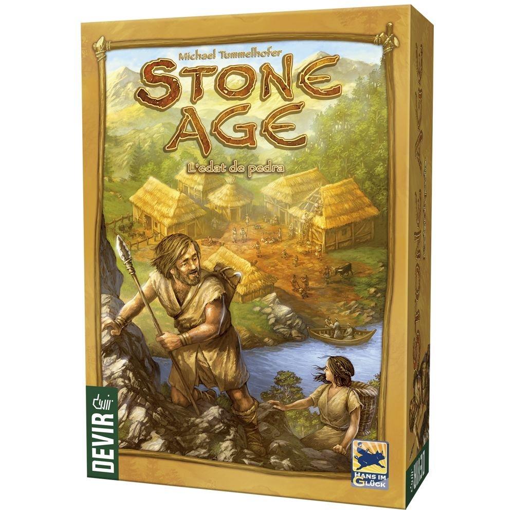 Devir- Stone Age, L´edat de Pedra, edición en catalán (BGSTONECAT ...