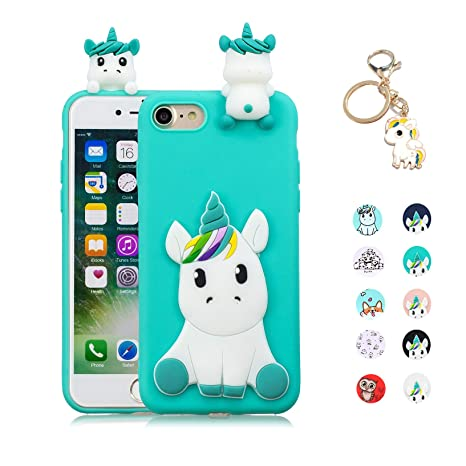 Kawaii-Shop Funda Compatible con iPhone 7 8 Silicona Case ...
