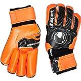 Uhlsport Ergonomic Supersoft RF Goalkeeper Gloves Multi-Coloured Black / Orange