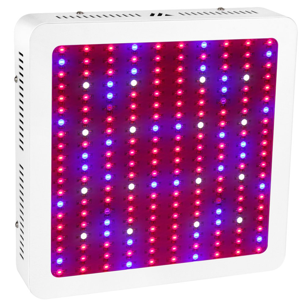 Morsen 2000W Double Chips LED Grow Light Full Spectrum 200x10W Grow Lamp for Greenhouse Hydroponic Indoor Plants Veg and Flower (10w Leds) by MORSEN