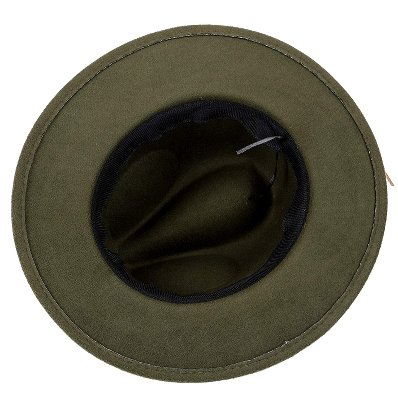 Fashion Wool Fedora Winter Woman Man Felt Top Hat Wide Brimmed Cylinder Hats Vintage Jazz hat