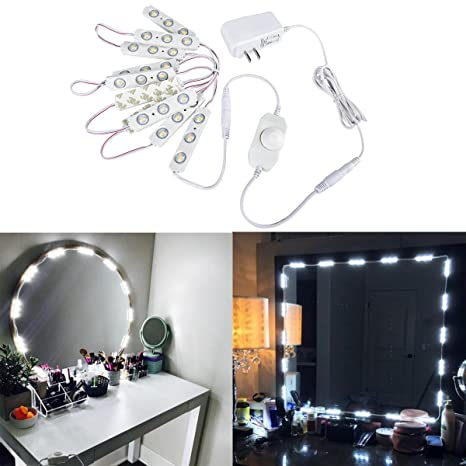 Autai make up mirror light dimmable soft white 10 led module light autai make up mirror light dimmable soft white 10 led module light bulbs 656ft with aloadofball Choice Image