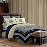 Bombay Dyeing. King Size Bedsheet With 4 Pillow Covers